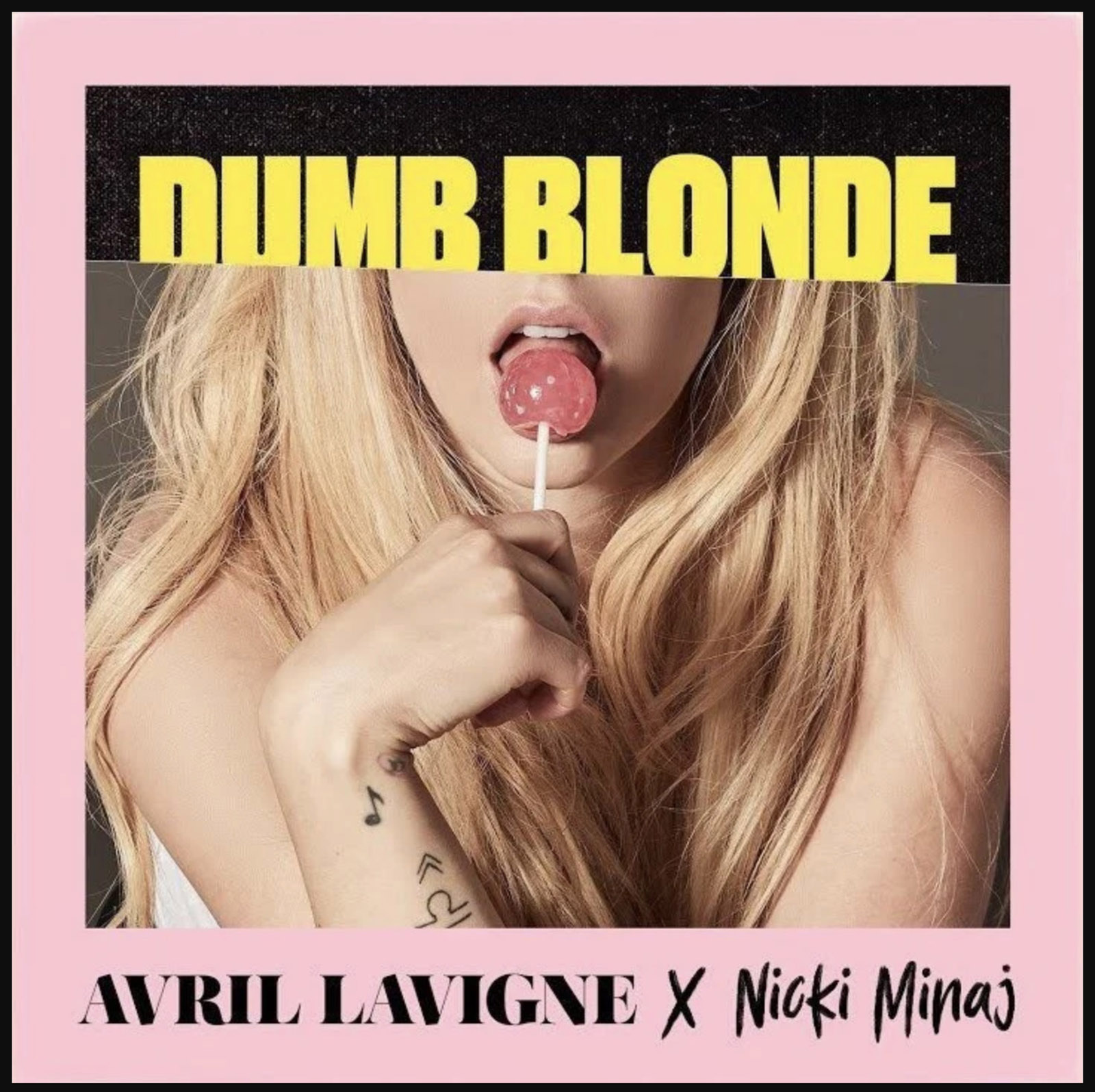 DUMB BLONDE AVRIL LAVIGNE 2019