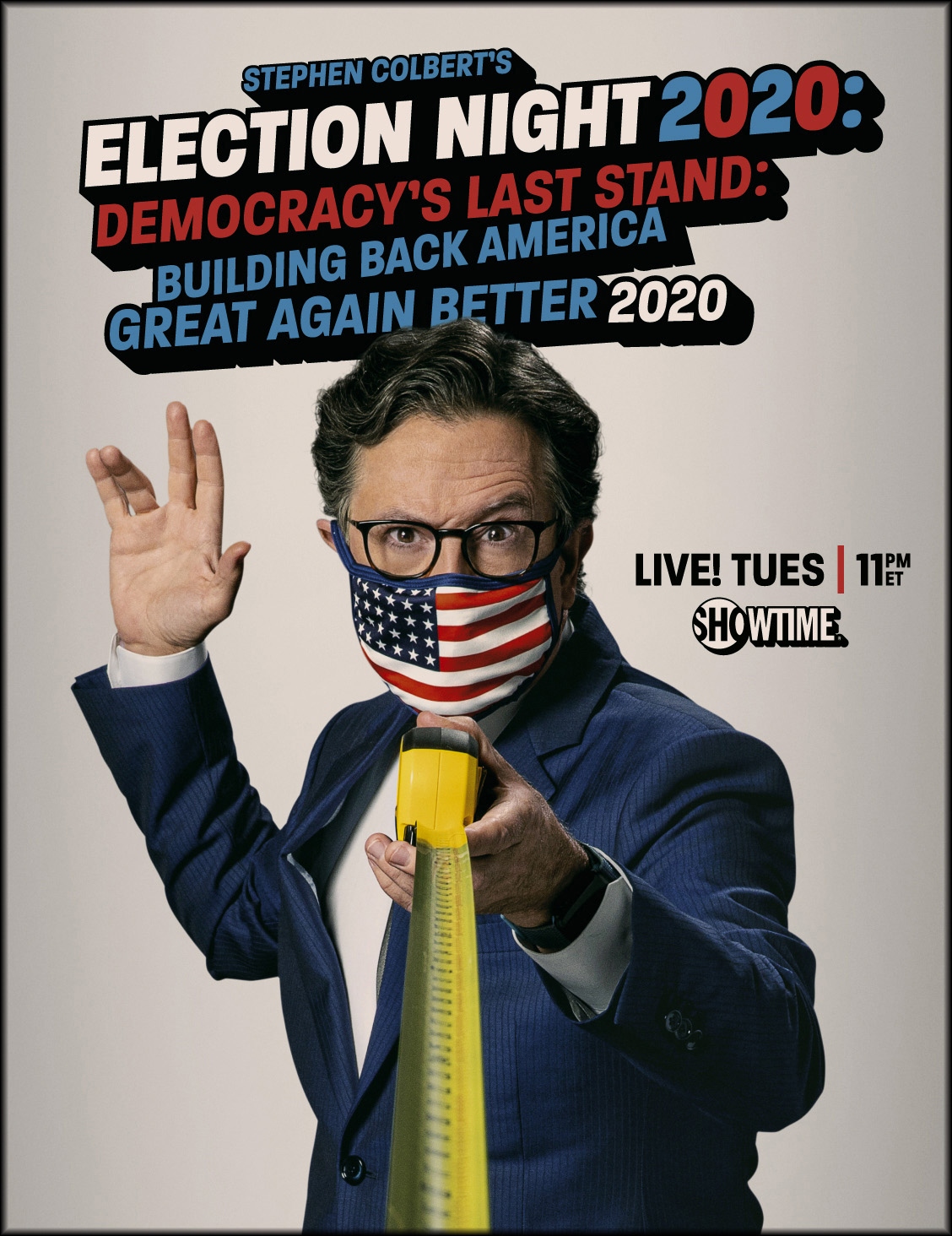 Stephen Colbert Showtime 2020 Election Special